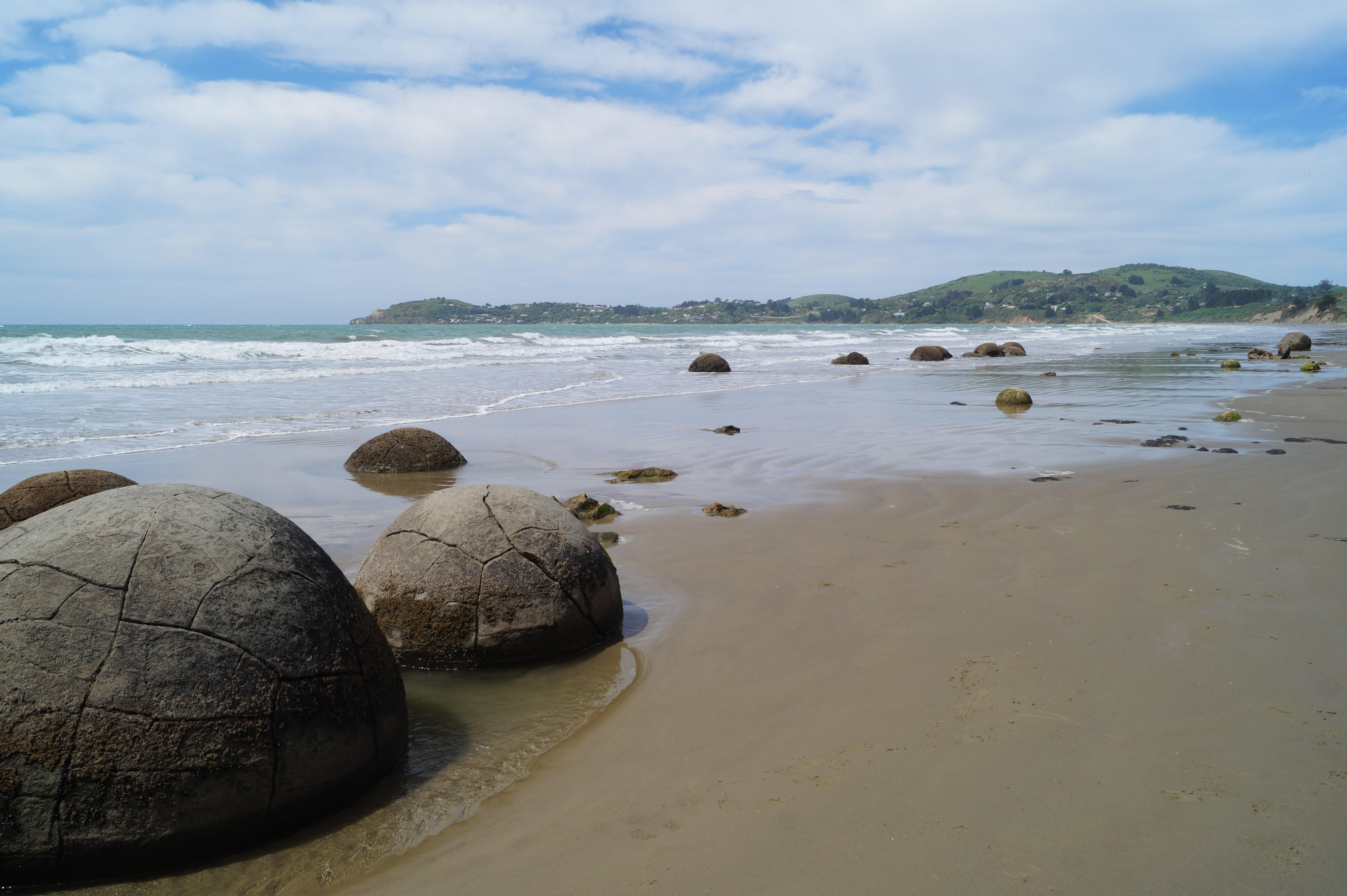 Die  Moeraki Boulders