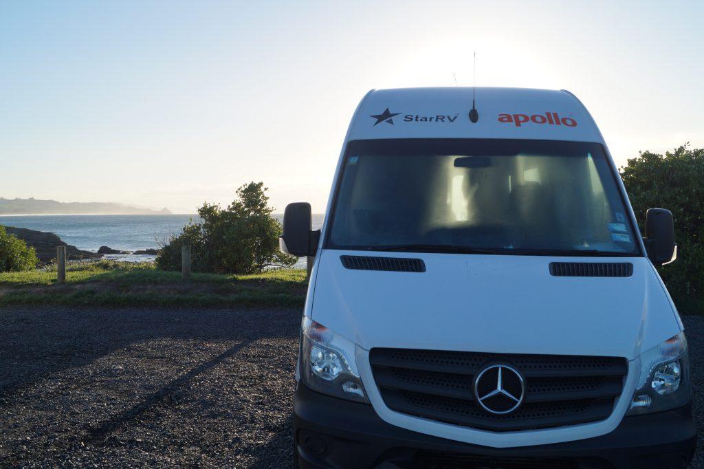Unser Camper, das wohl wichtigste bei der ideal Neuseeland Reisevorbereitung