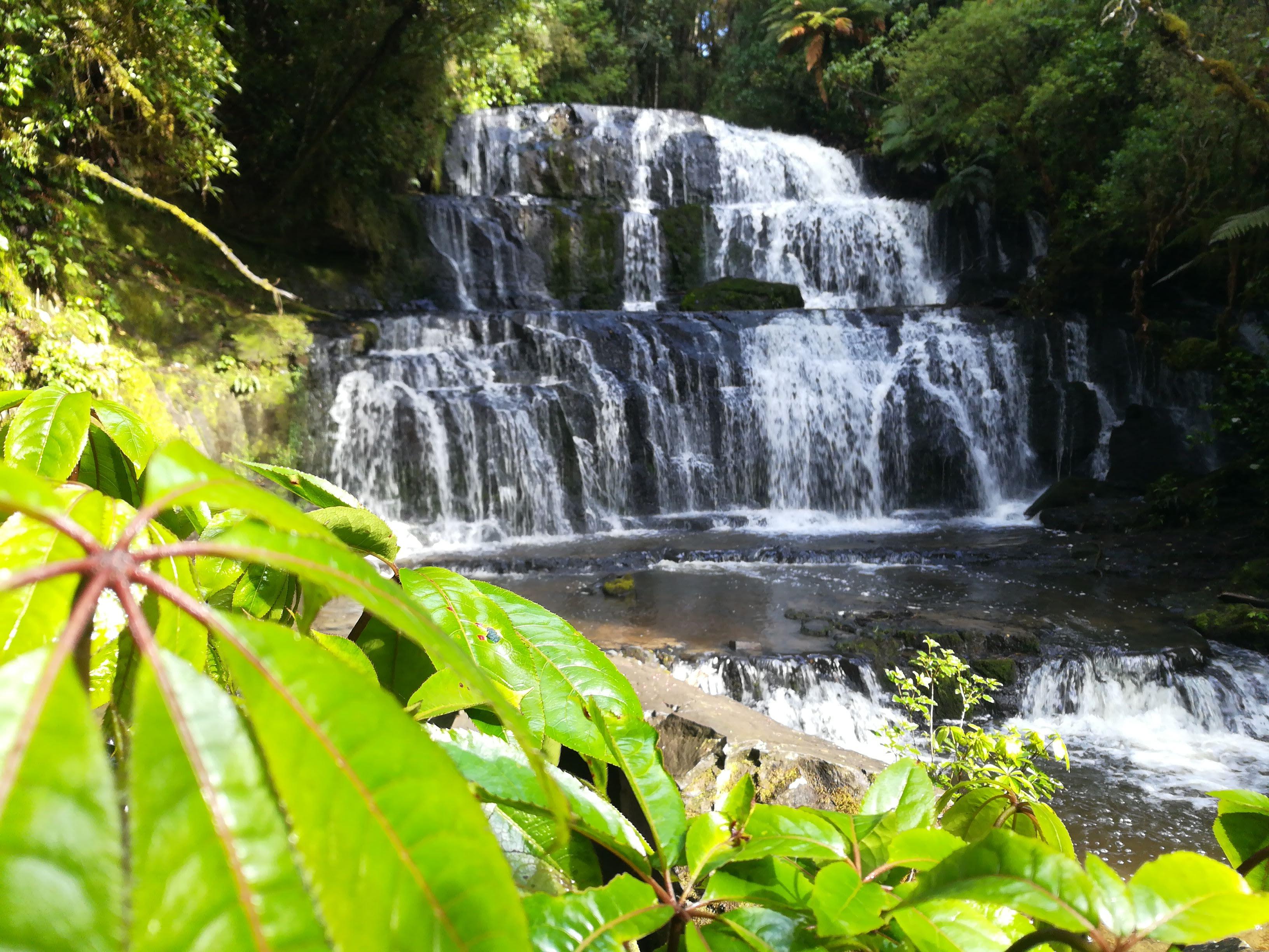 Die Purakaunui Falls
