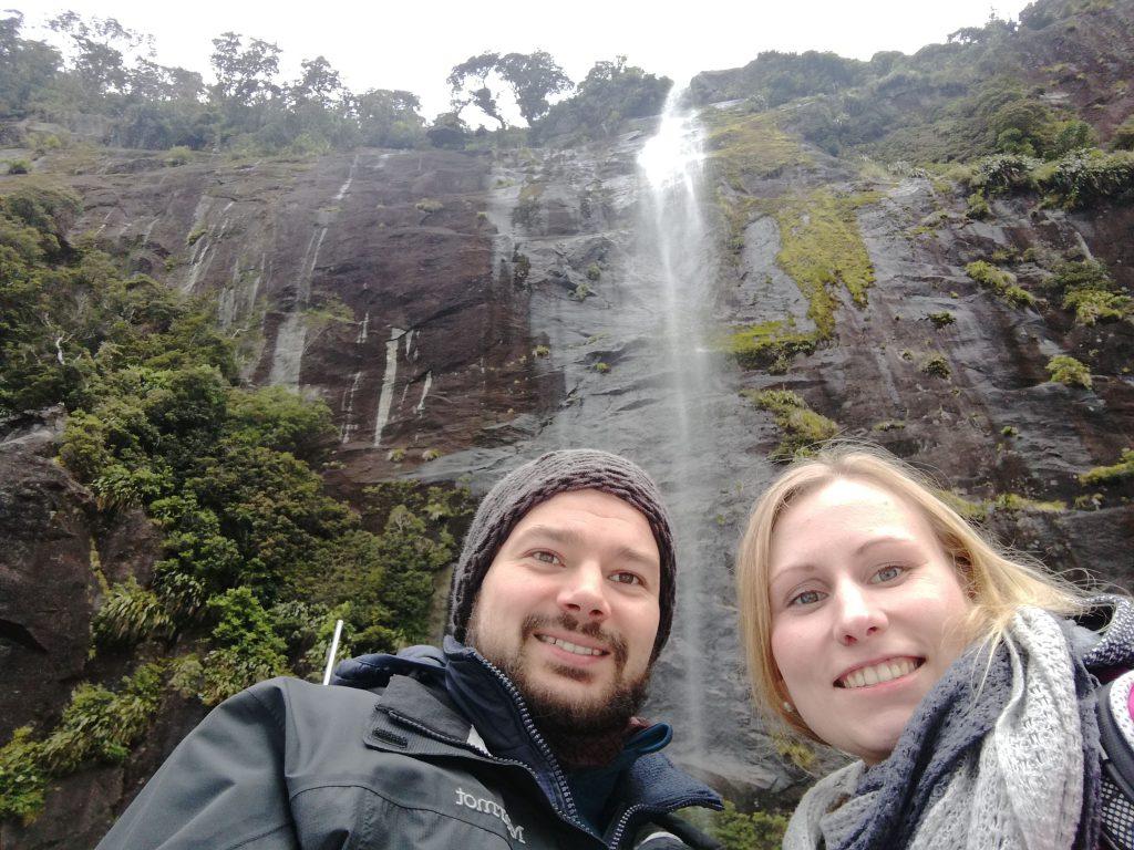 Auf dem Milford Sound