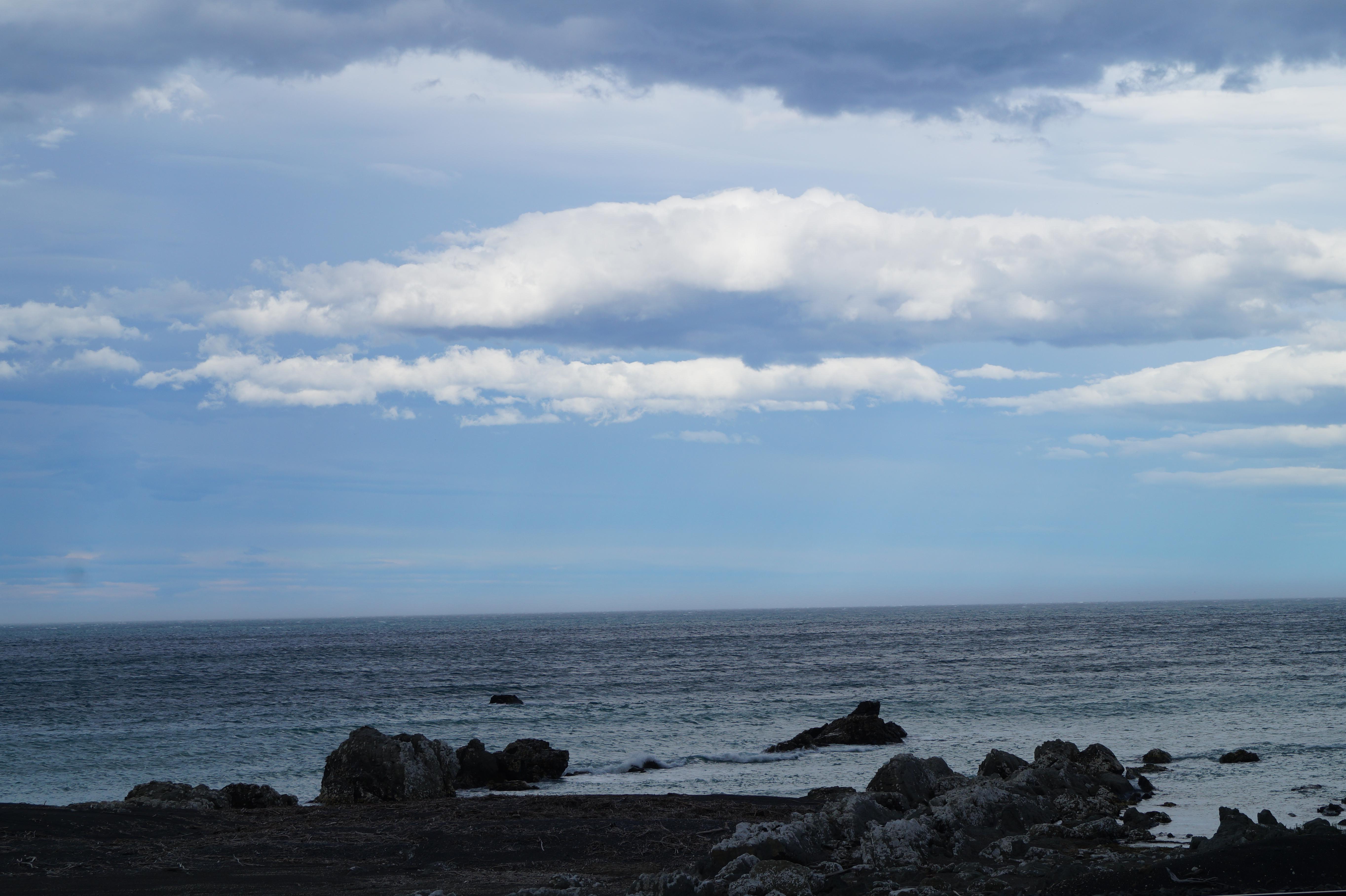 Küstenabschnitt kurz vor Kaikoura