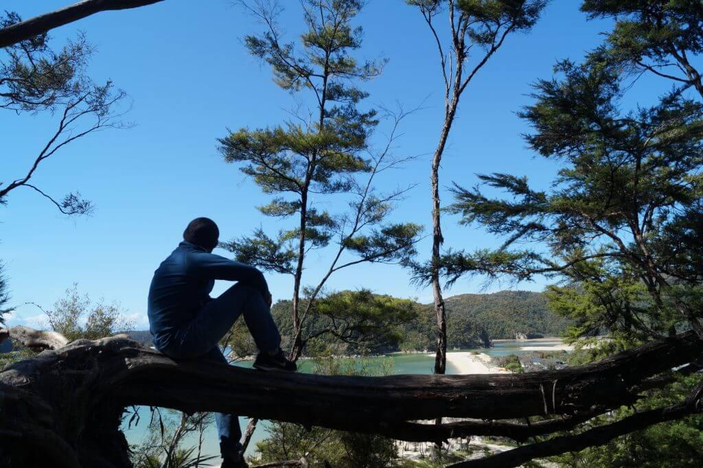 Ausblick auf Torrent Bay
