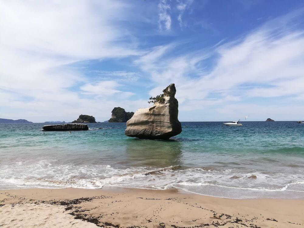 Tag 21 – Hot Water Beach & Cathedral Cove