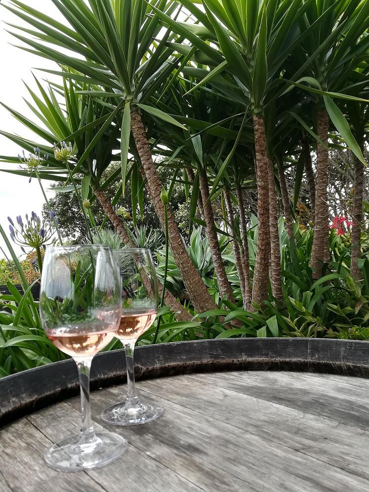 Wein auf Waiheke Island