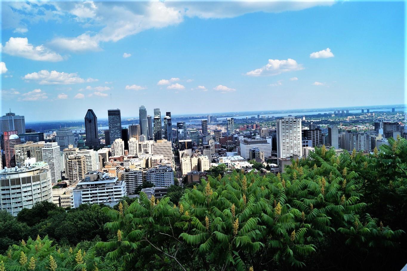 Aussicht auf Montreal