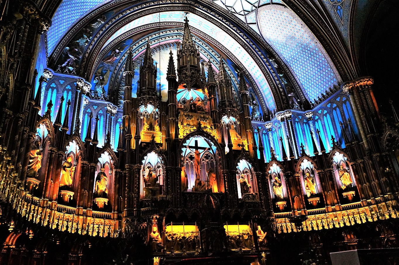 Notre-Dame de Montreal  von innen
