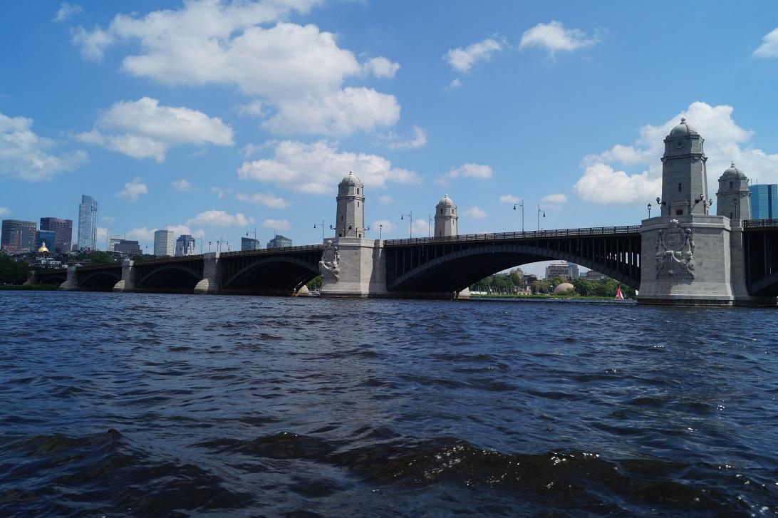 Boston vom Wasser aus
