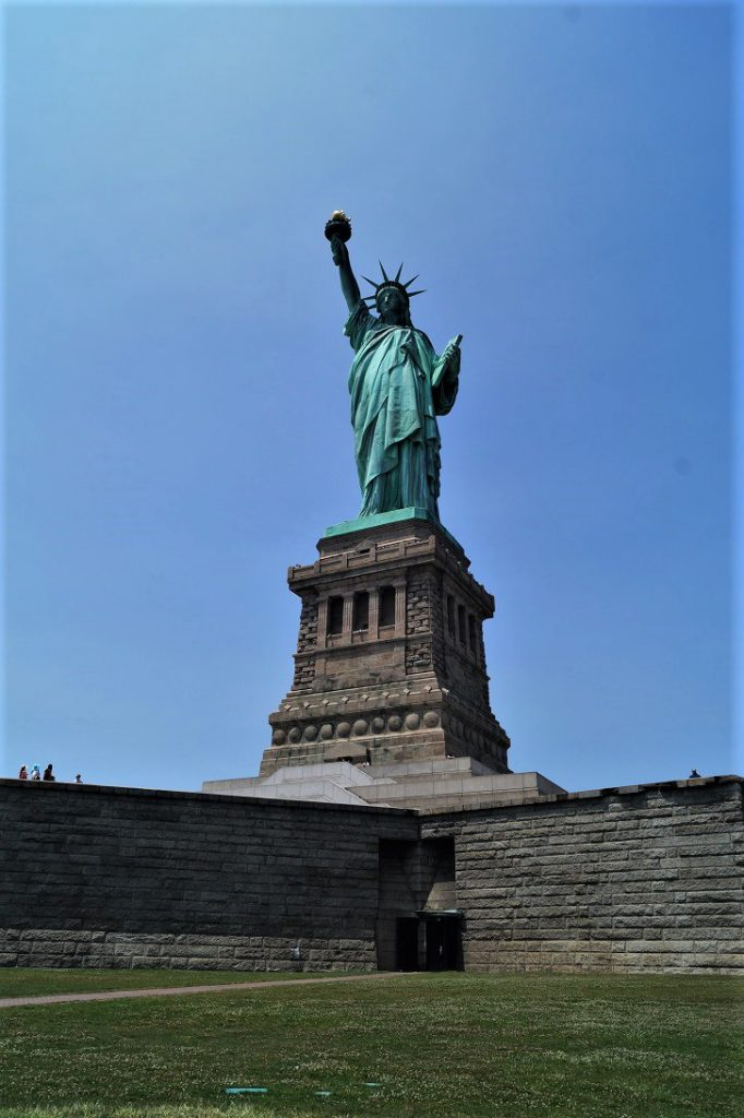 Die Statue of Liberty - Die Freiheitsstatue