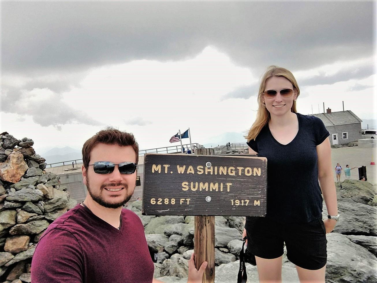Mount Washington in den White Mountains