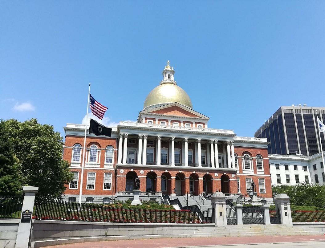 Das State House in Boston