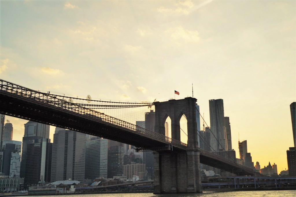 Die Brooklyn Bridge, eines unserer New York Highlights