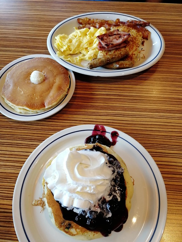 Frühstück im American Style