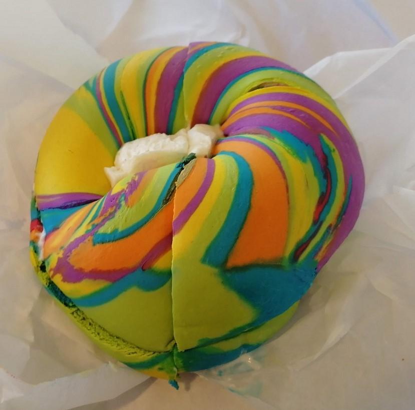 Der Rainbow Bagle