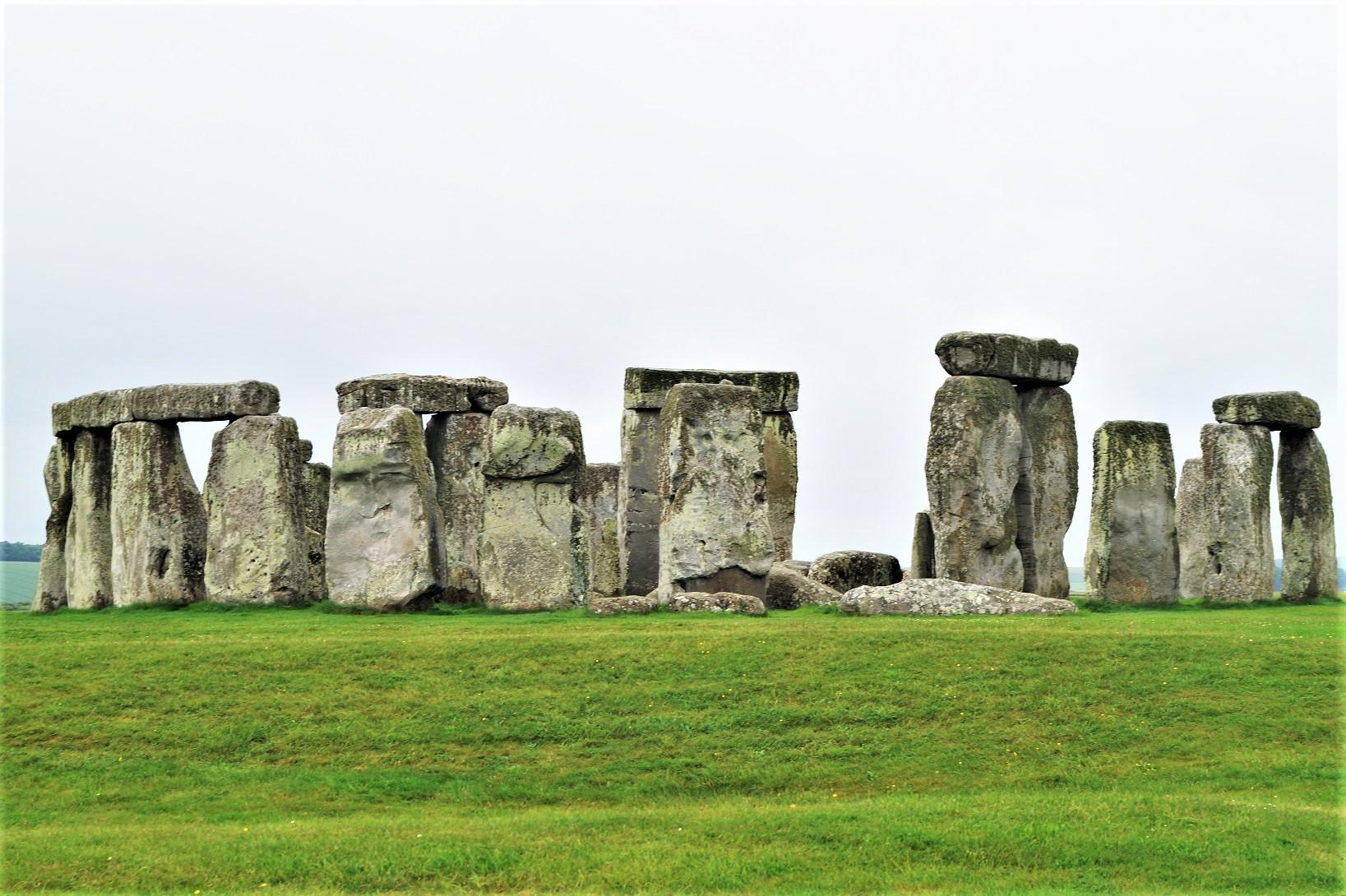 Stonehenge - insbesondere durch das nicht so gute Wetter hatte es eine ganz besondere Stimmung