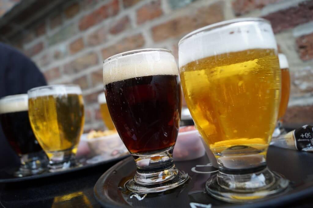 Belgisches Bier in Brügge