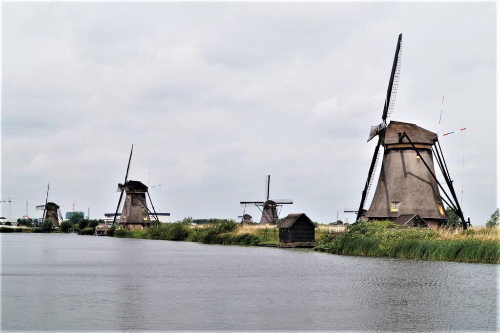 Kinderdijk in der Nähe von Rotterdam