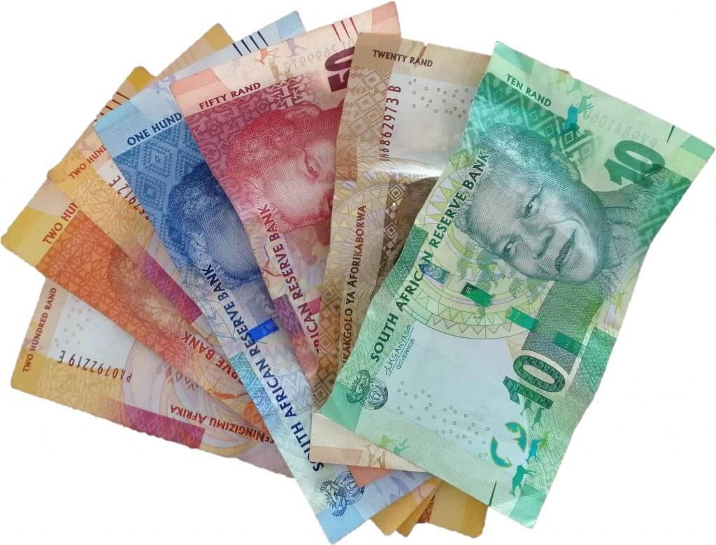 Südafrikanische Geldscheine