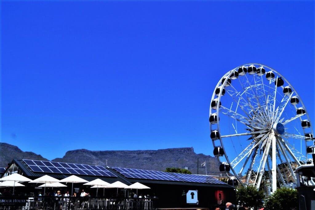 Riesenrad an der Waterfront in Kapstadt