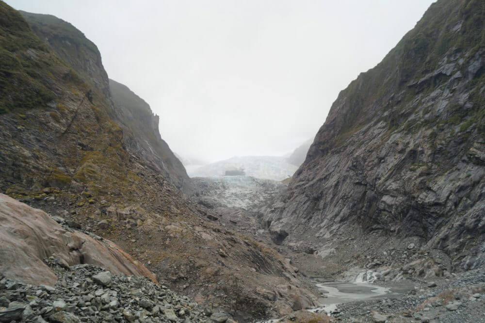 Tag  10 – Gletscher und Pancakes Rocks