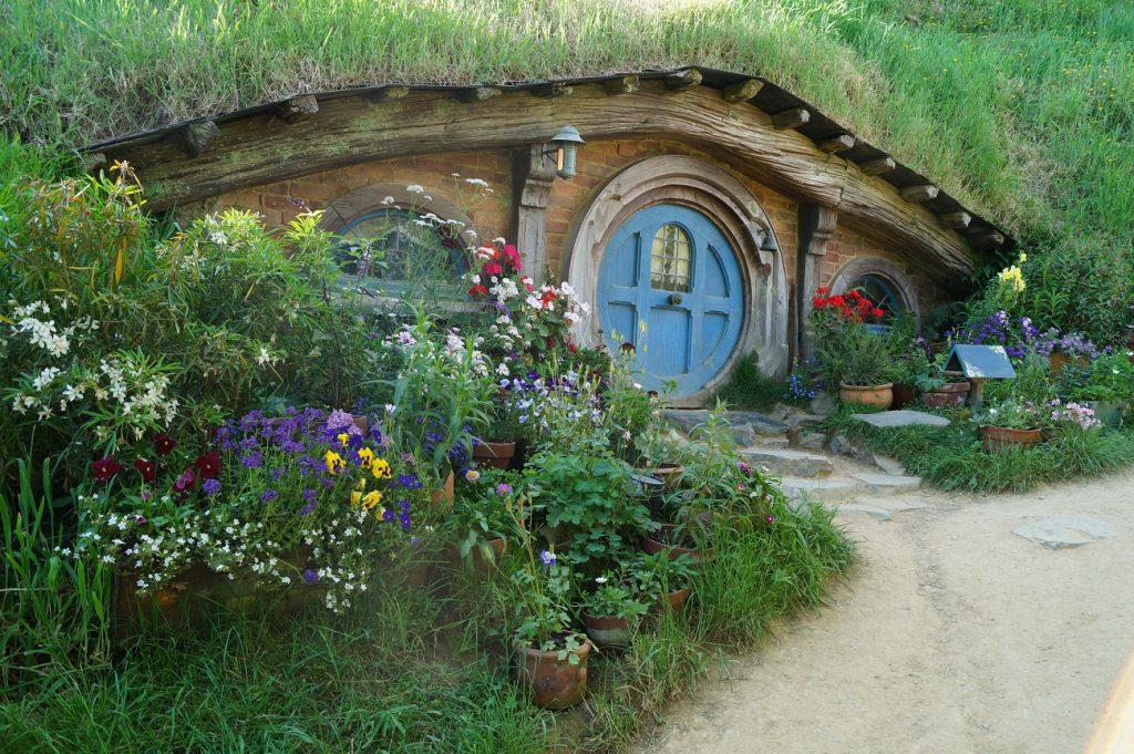 Hobbiton auf der Nordinsel von Neuseeland