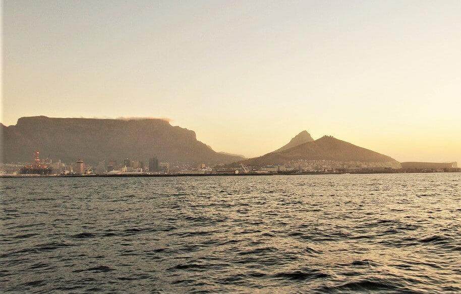 Traumhafter Blick auf Kapstadt