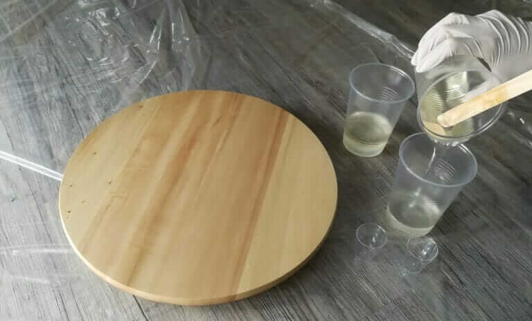 Die Resin-Farben mischen und vorbereiten 1
