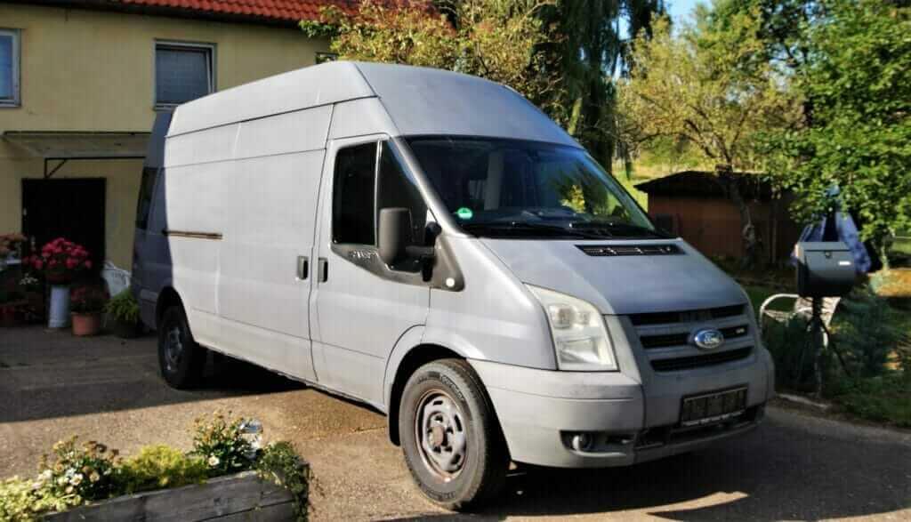 Unser Van, der Unser Wunsch Layout für die Camper Ausbau beginnt mit der Planung